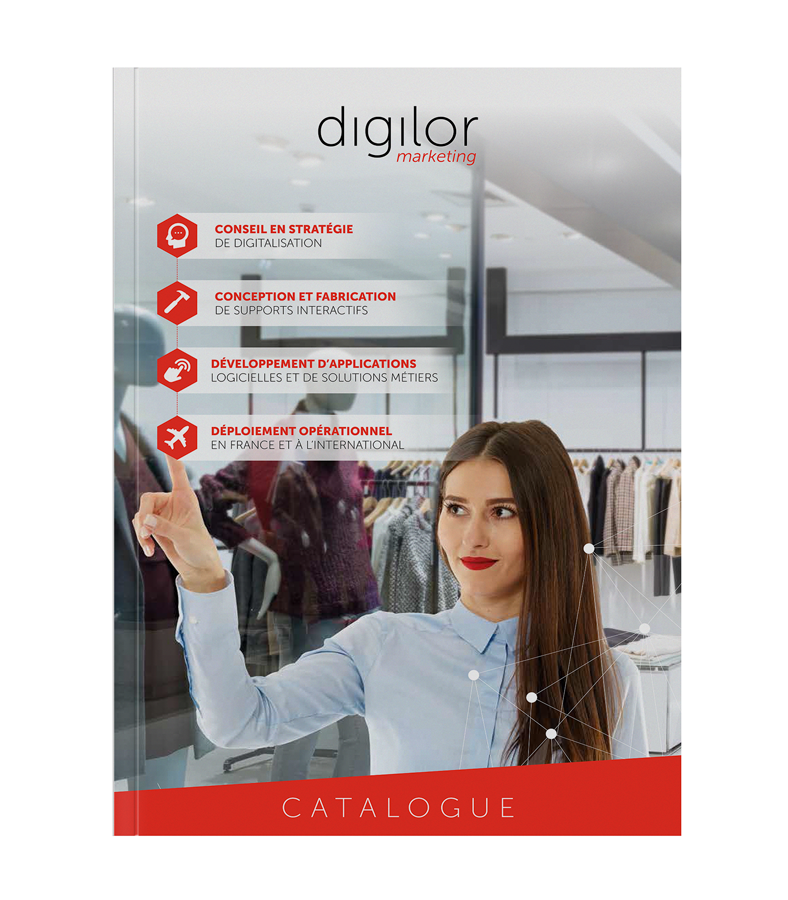 Digilor catalogue applications et dispositifs tactiles