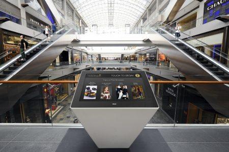 LE WAYFINDER pour aider les consommateurs à se repérer dans leur centre commercial