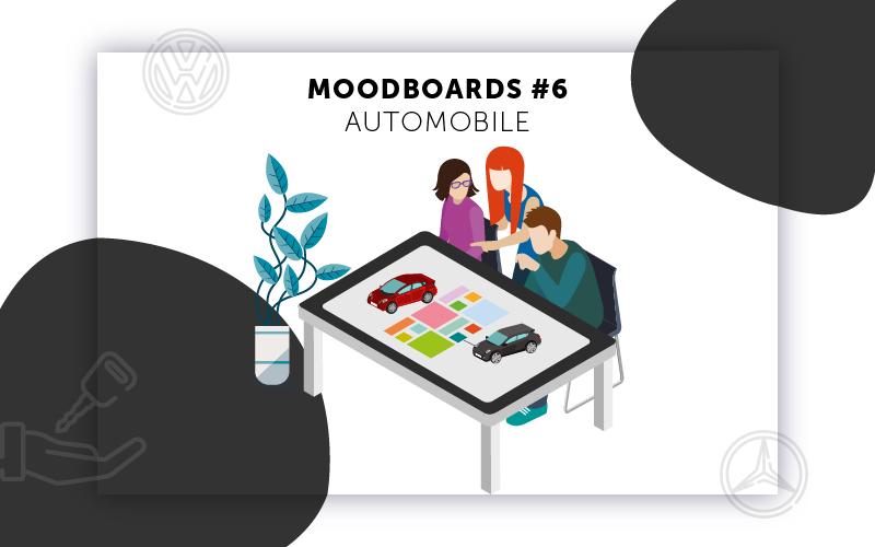 Moodboards digitalisation Automobile sélection 6