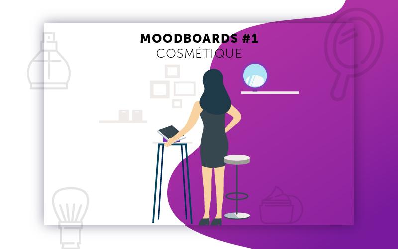 Moodboards digitalisation Cosmétique sélection 1