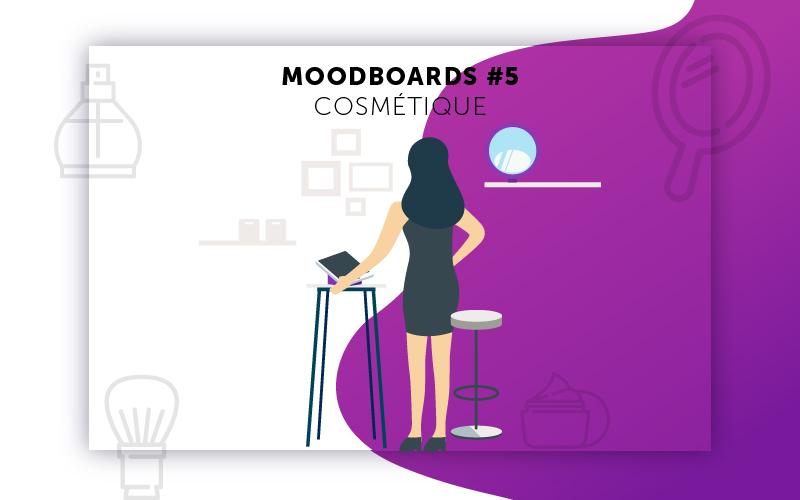 Moodboards digitalisation Cosmétique sélection 5
