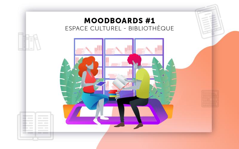Moodboards digitalisation Bibliothèque sélection 1