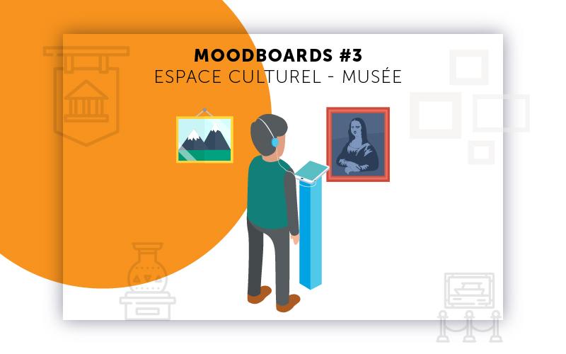 Moodboards digitalisation Musée sélection 3