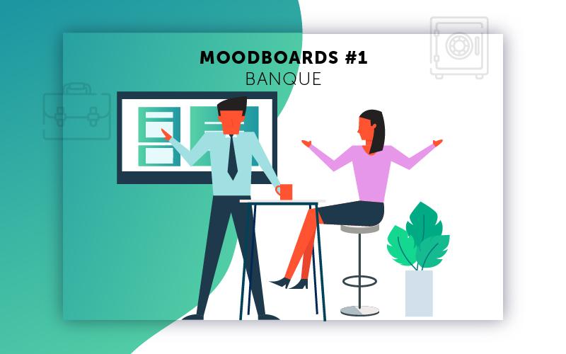 Moodboards digitalisation Banque sélection 1