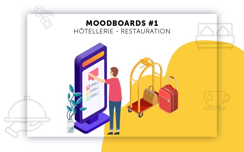 Moodboards digitalisation Hôtellerie sélection 1