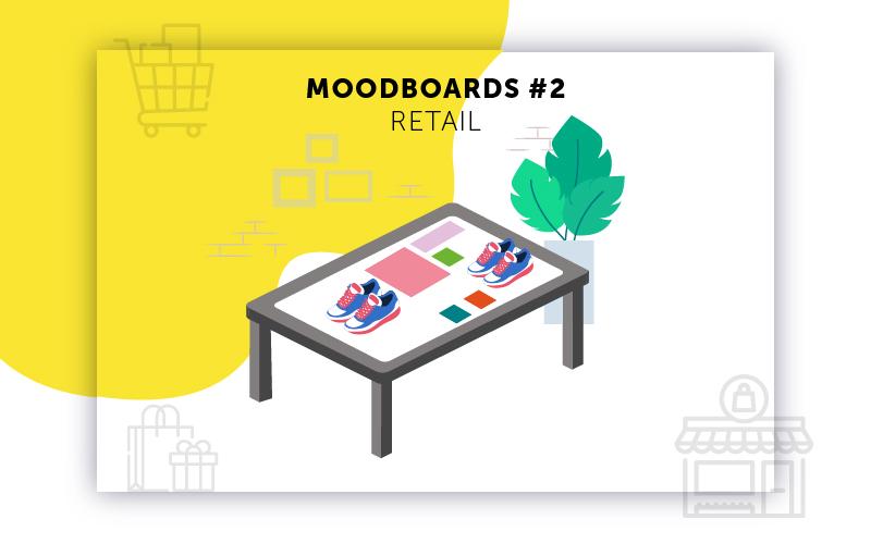 Moodboards digitalisation Retail sélection 2