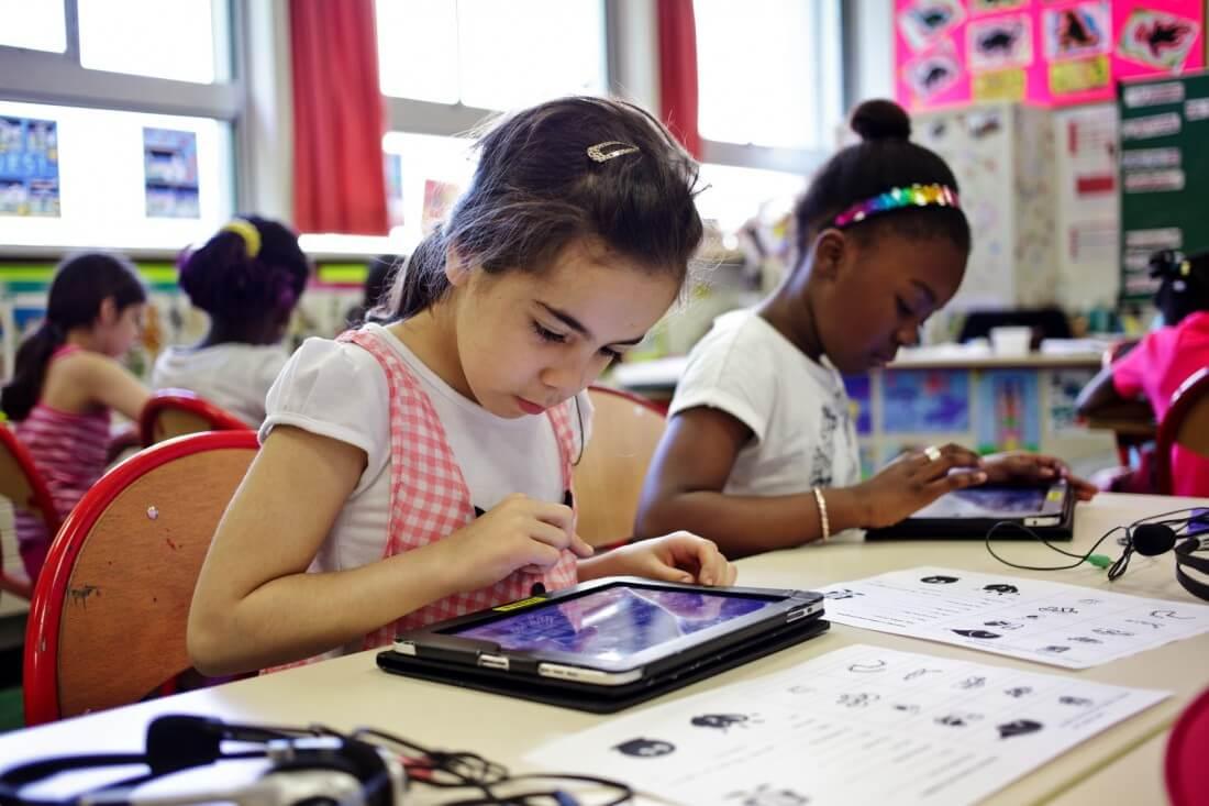 Ecole tablette tactile