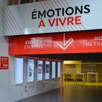 Ecran tactile hippodrome de Vincennes à Paris