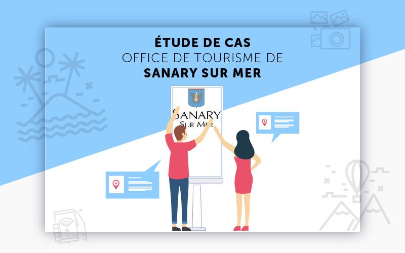 Etude de cas clients digilor projet tactile et affichage - Office du tourisme sanary sur mer ...