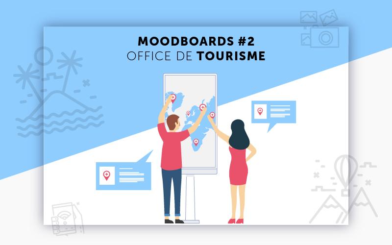 Moodboards digitalisation Office de Tourisme sélection 2