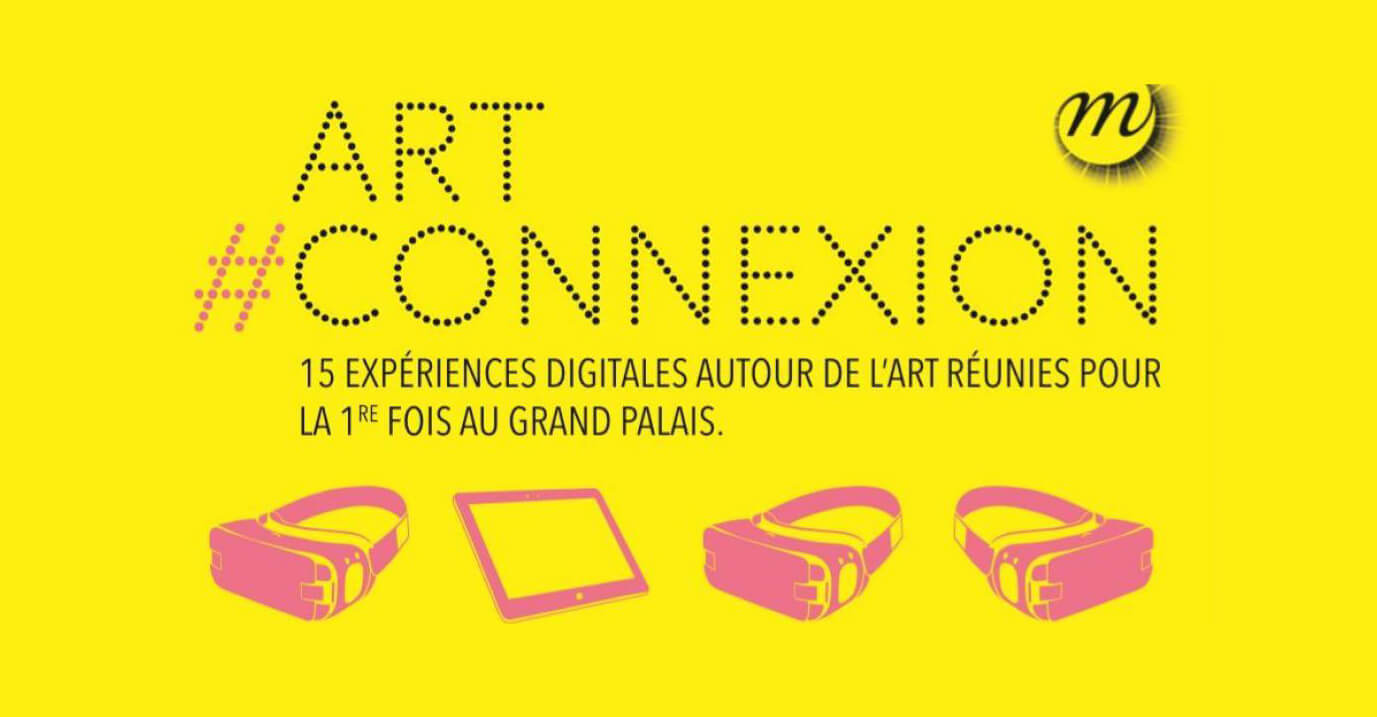Affiche art connexion paris