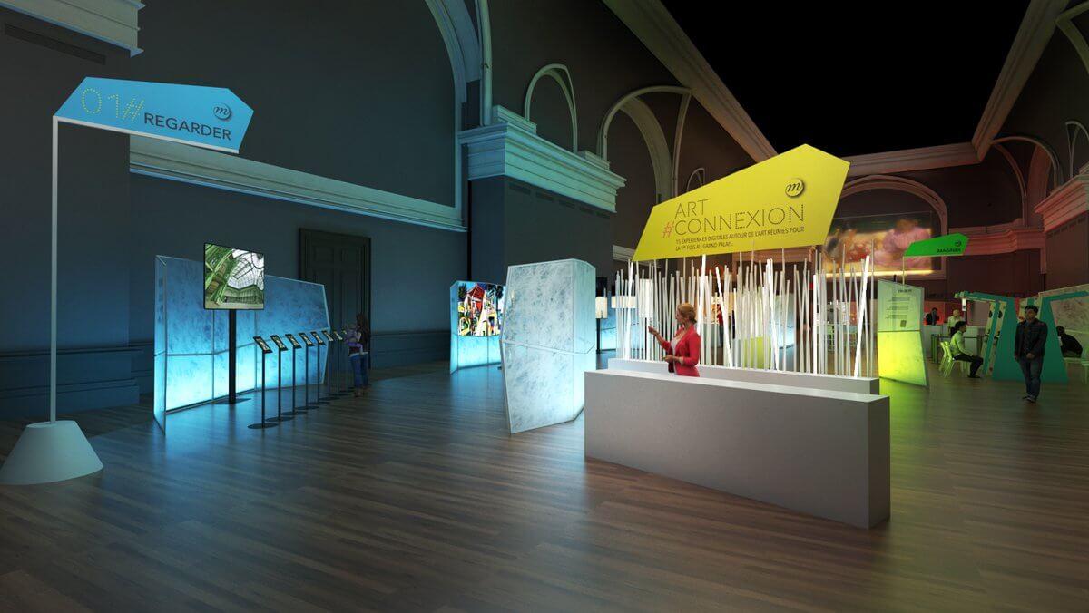 Musée art connexion digital