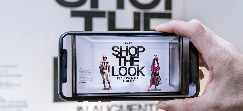 Application réalité augmentée Zara
