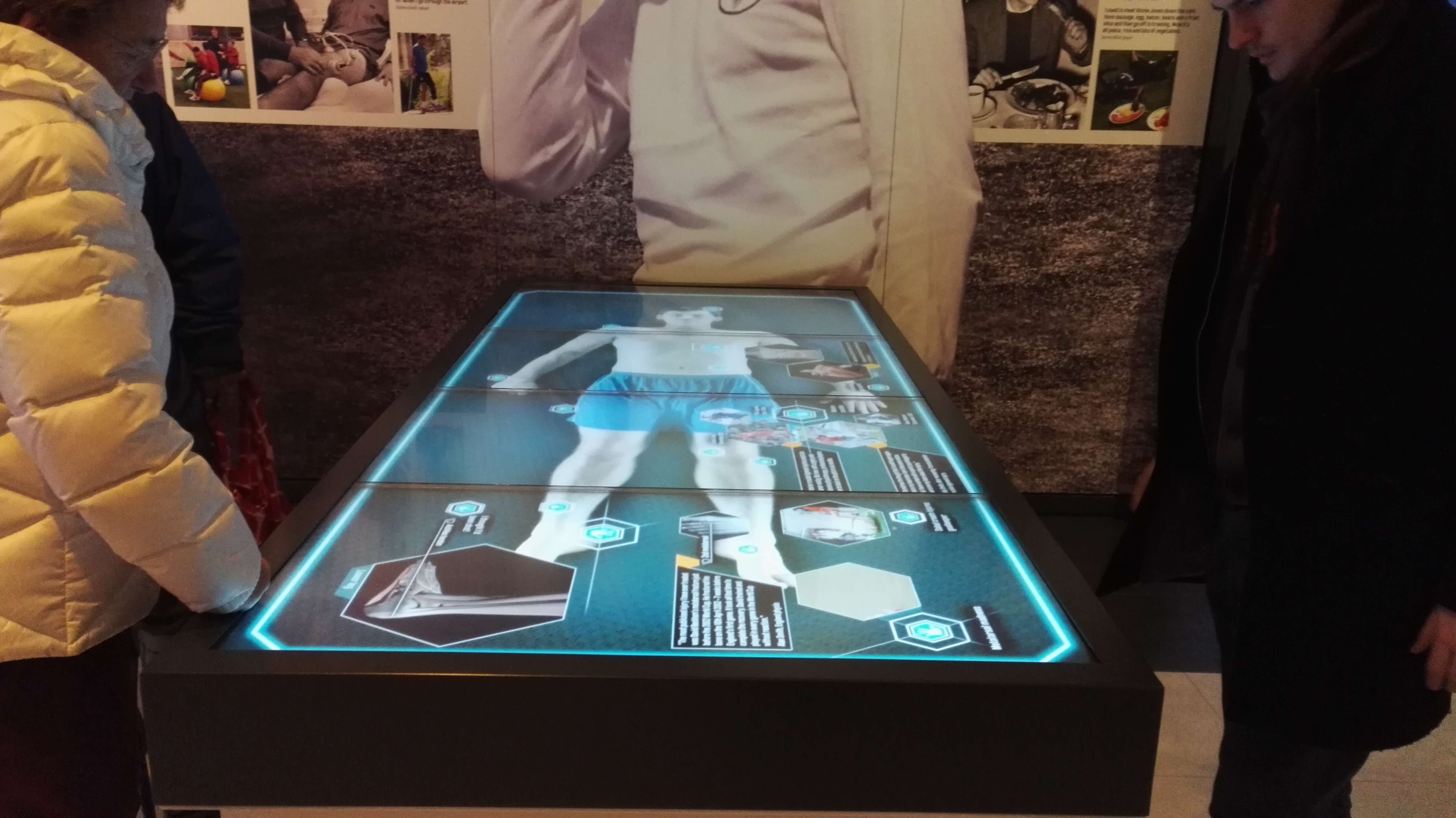 Table tactile anatomie musée