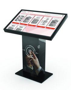 Application DataHall dématérialisation et affichage légal pour mairie borne tactile 42 pouces