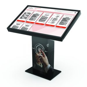 Application DataHall dématérialisation et affichage légal pour mairie borne tactile 49 pouces 4K