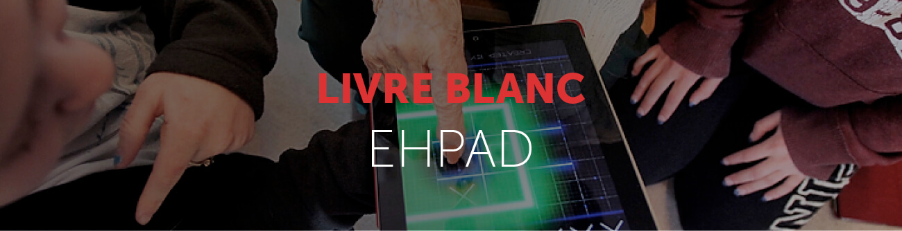 Bandeau livre blanc digitalisation EHPAD