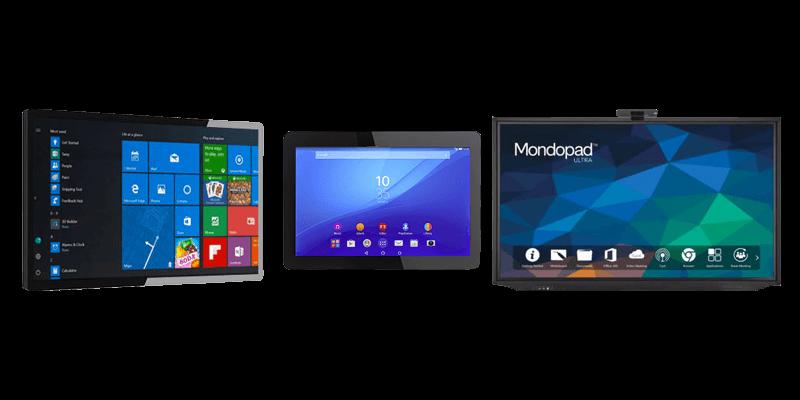 Écrans tactiles capacitif projeté, android et monopad