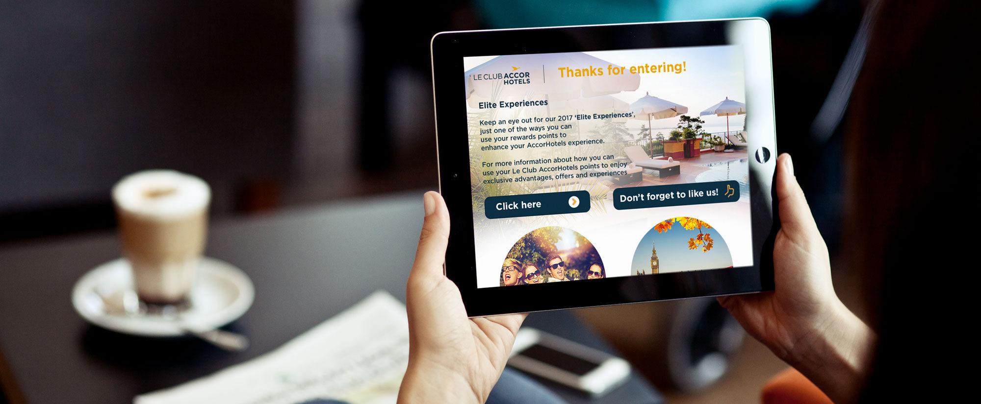 Accorhotels digitalisation accueil