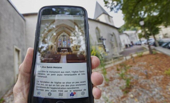 Borne interactive Vandoeuvre lès Nancy
