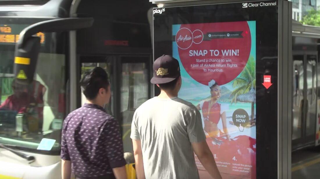 Campagne affichage digital