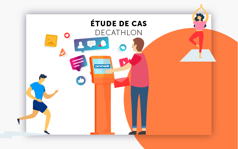 Etude de cas digitalisation Decathlon