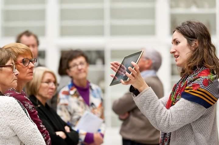 Musée tablette tactile visite