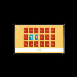 Location écran tactile 43 pouces capacitif