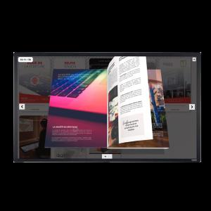 Location écran tactile 65 pouces 4K capacitif
