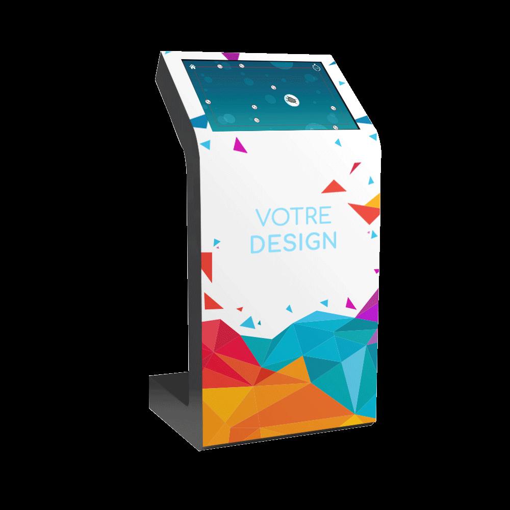 Location borne tactile interactive Kiosk 22 pouces