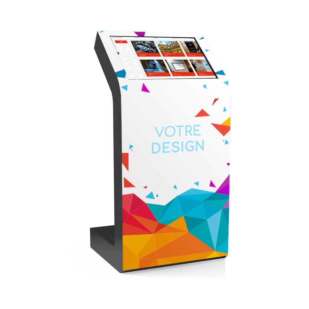 Borne interactive présentation entreprise