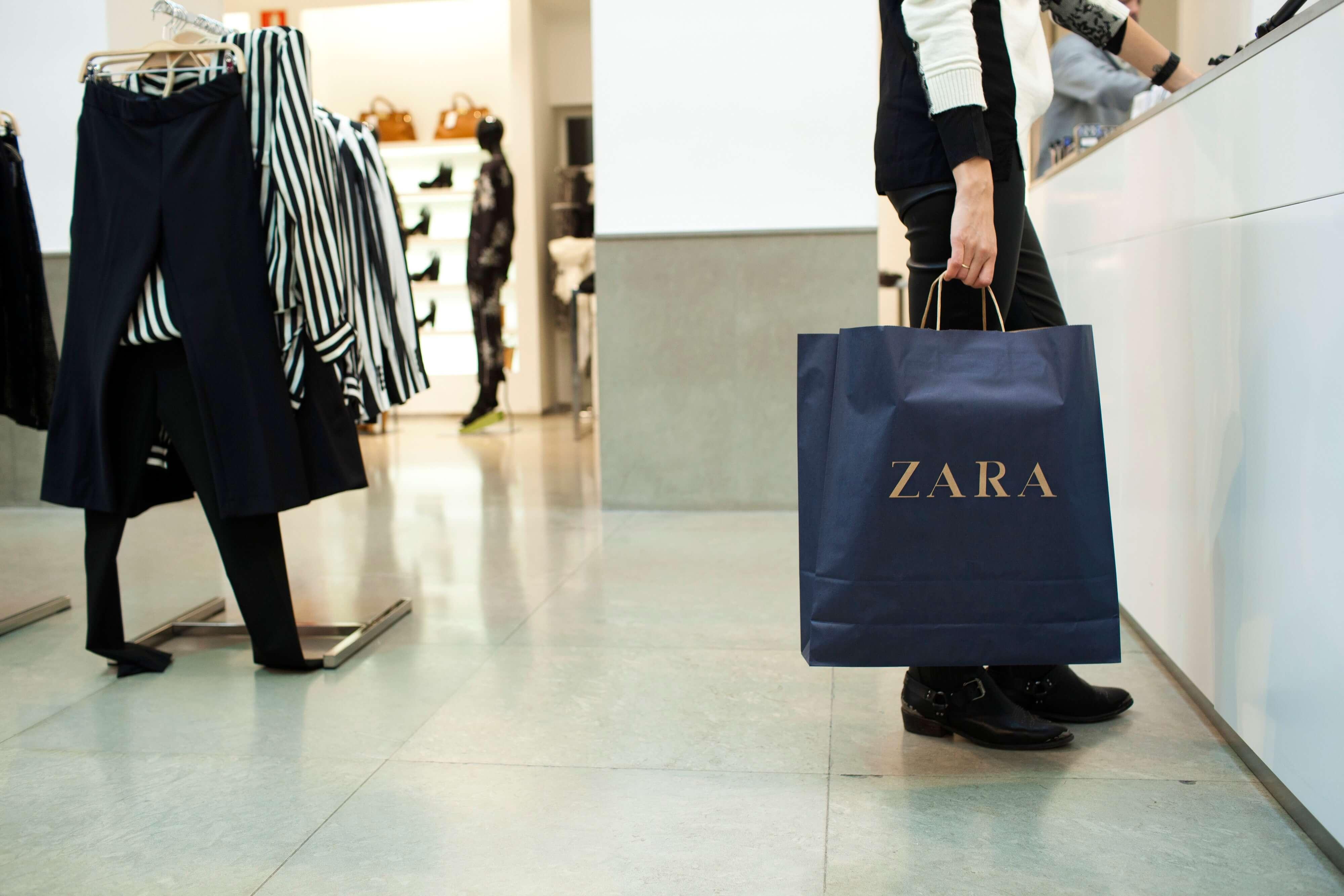 Digitalisation des boutiques Zara