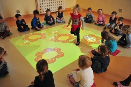 Sol interactif pour l'Education des Enfants