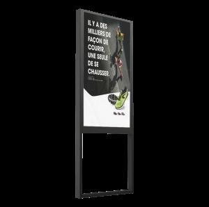 Totem vitrine 46 pouces digitalisation commerce
