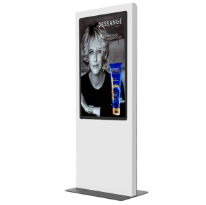 Totem vitrine 55 pouces digitalisation commerce