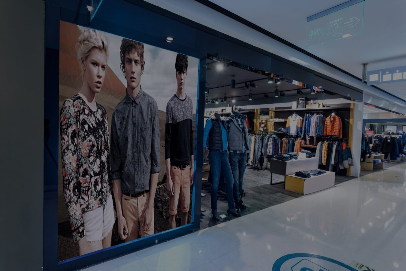 Solution digitalisation vitrine commerçants magasin affichage dynamique