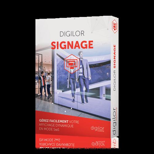 Digilor Signage logiciel gestion affichage dynamique