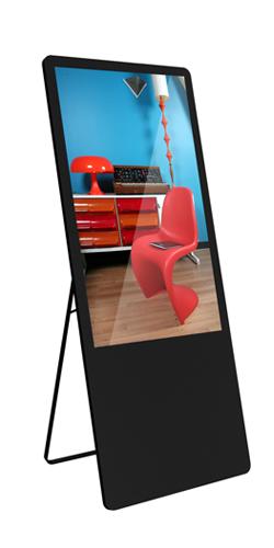 Chevalet numérique intérieur showroom