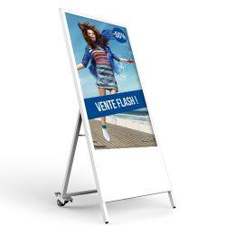 Chevalet numérique intérieur promotion