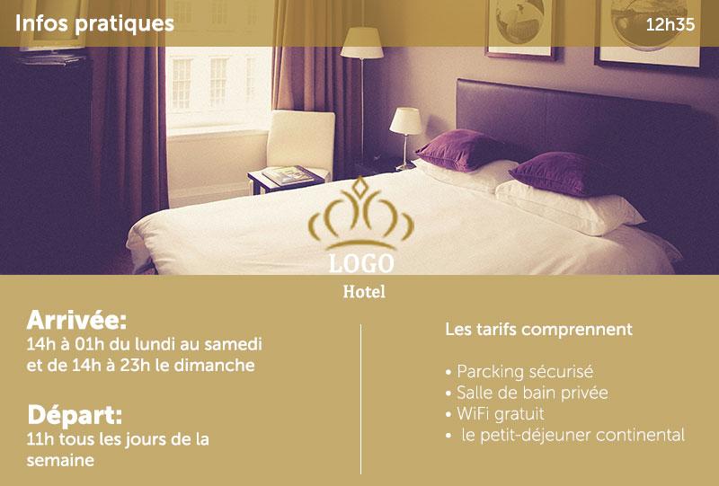 Digilor Signage Gestion affichage dynamique Hôtel