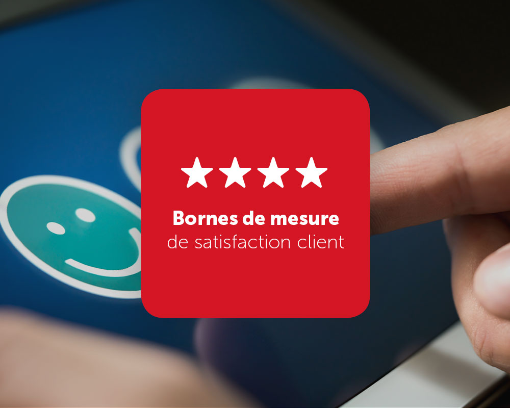 Bornes de mesure de satisfaction client
