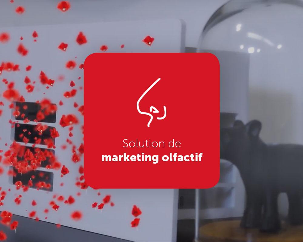 Digiscent, solution innovante de marketing olfactif