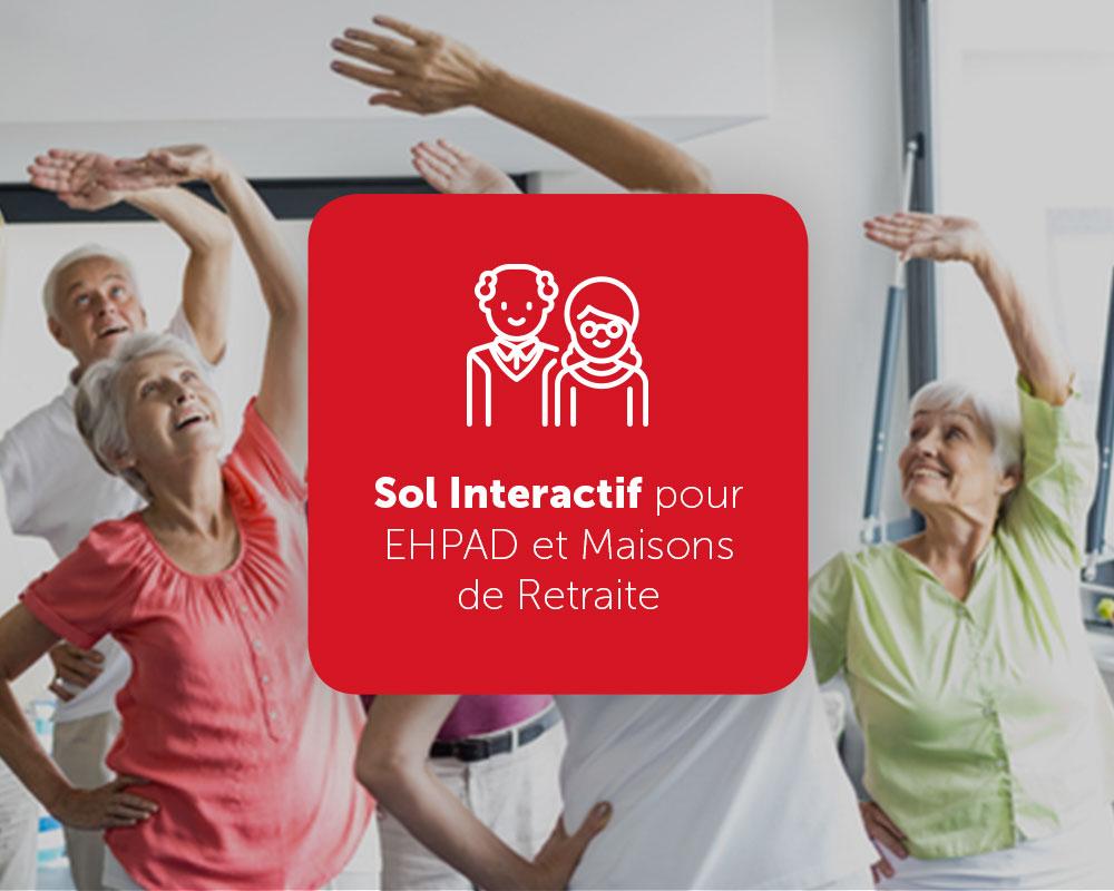 SENIOR ACTIV' : Sol Interactif pour EHPAD et Maisons de Retraite