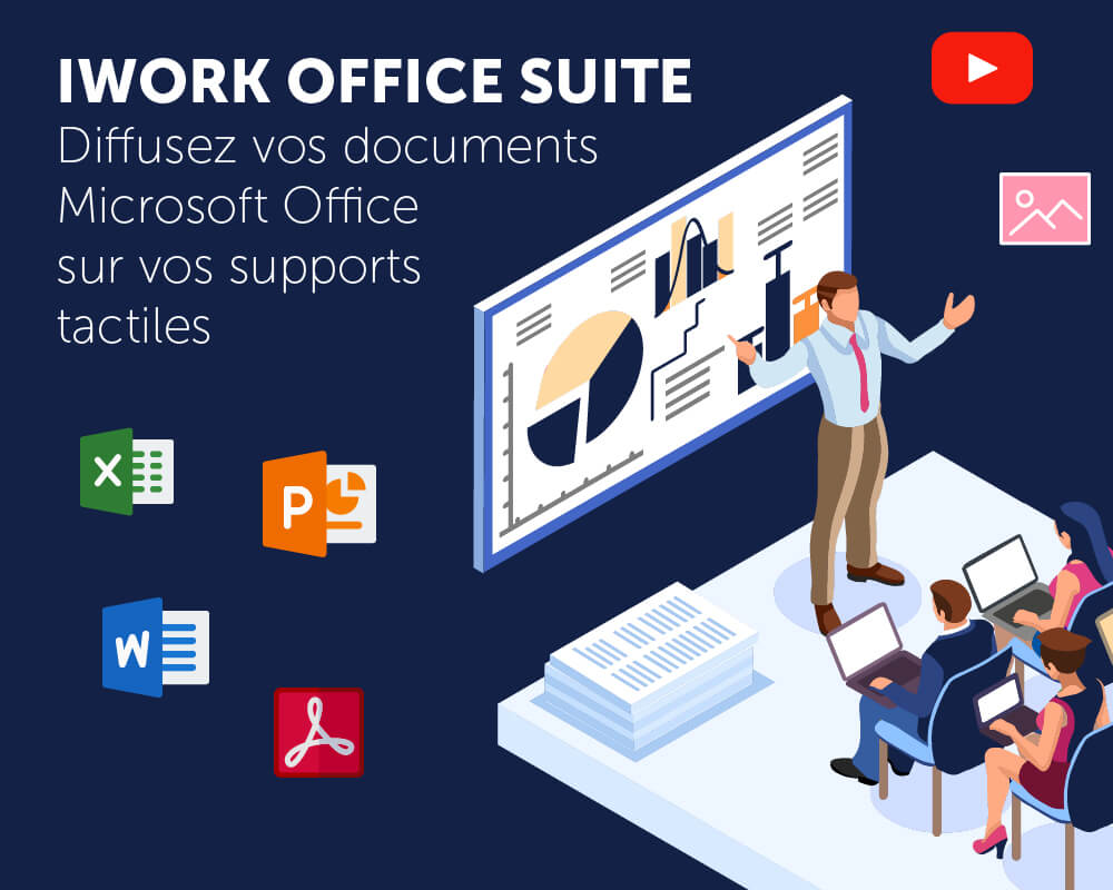 Application tactile iWork Office Suite