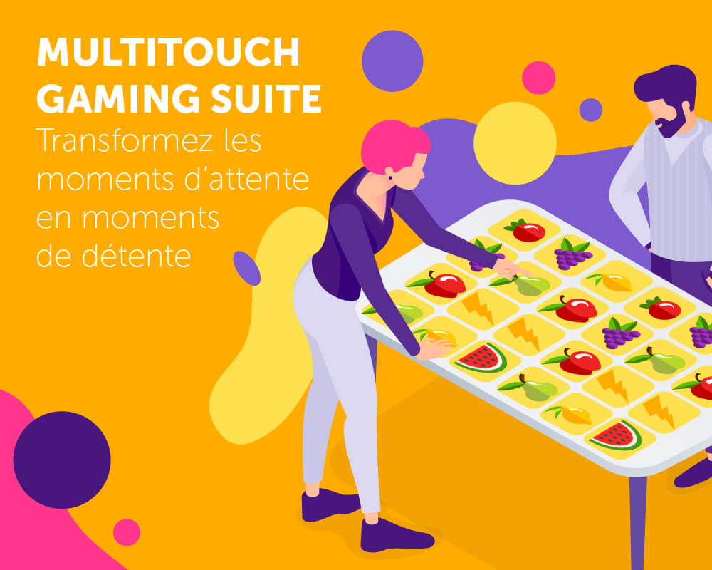 Application tactile Multitouch Gaming Suite