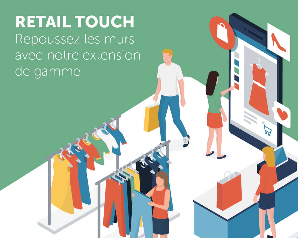 Application tactile Retail Touch