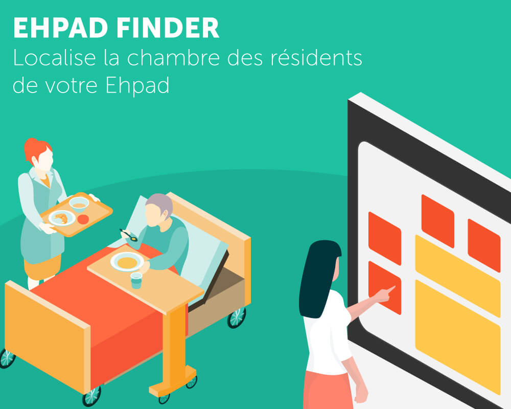 Application tactile EHPAD Finder