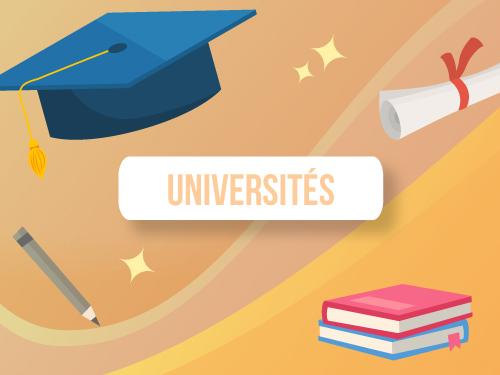 Infographie avantages digitalisation universités