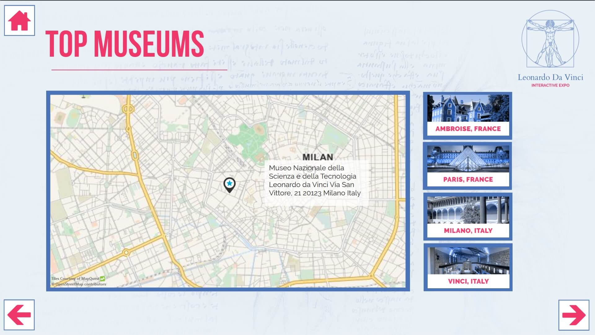 intuiface application musée