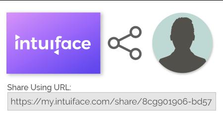 Intuiface présentation création applications tactiles interactives URL